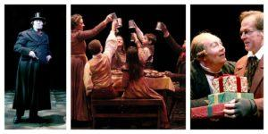 A Christmas Carol by Charles Dickens at North Shore Music Theater, Beverly MA